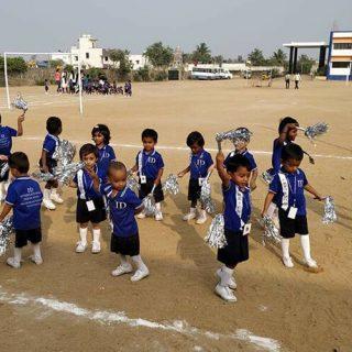 children cheer
